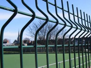 3D Curved Welded Wire Fence